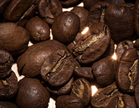 image of Medium-dark roast coffee beans