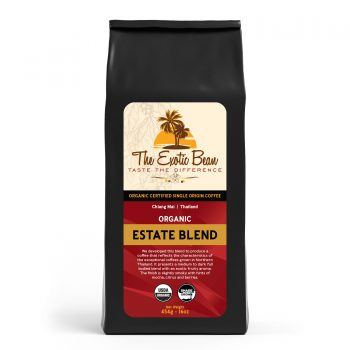 organic estate coffee blend bag image