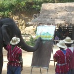 Chiang Mai Painting Elephants