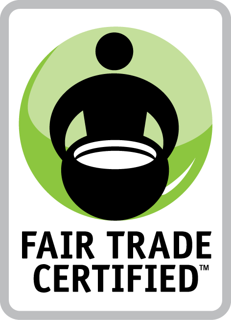 image of fair trade certified coffee label