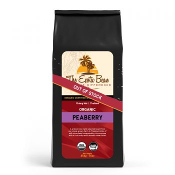 out of stock peaberry coffee pack image